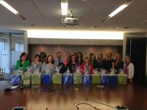 Bank of America the HopeMatch partner for Christmas program helps families with Easter baskets